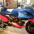 43- One of ten Britten racers built, on display at the Barber Vintage Motorcycle Museum, October 2015.