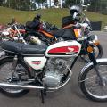 48-1972 Honda CB100 purchased at the Barber Vintage Festival, October 2015.